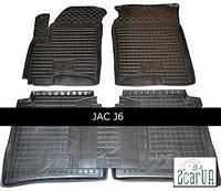 Полиуретановые коврики в салон JAC J 6 (Avto-Gumm)