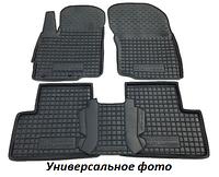 Полиуретановые коврики в салон Mercedes Sprinter 2007> / VW Crafter (2007>) (Avto-Gumm)