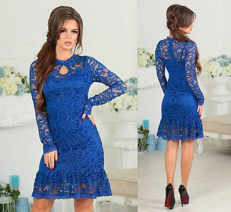 Женское коктейлтное платье