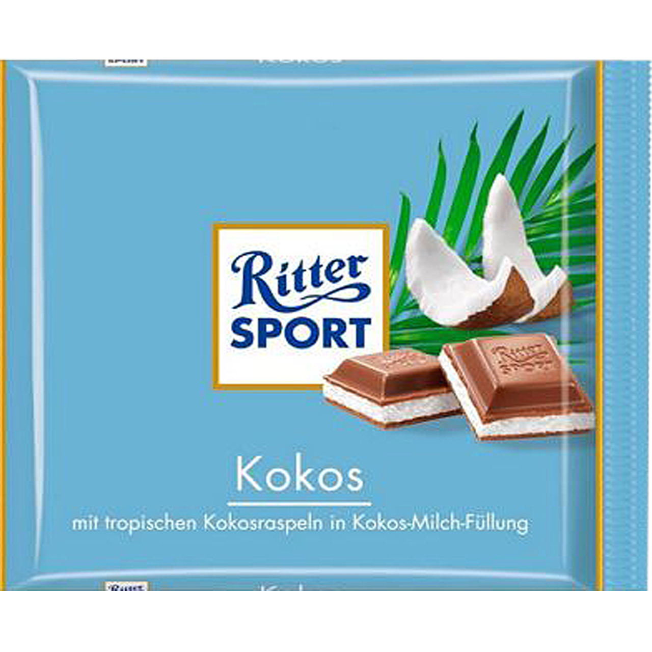Шоколад Ritter Sport Kokos Кокосовый 100г