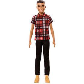 Кукла Кен Модник Fashionistas Plaid on Point Barbie черные брюки FNH41