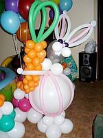 Заяц с морковкой 1,5 м
