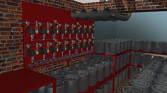 Стадия проекта - 3D-модель.
