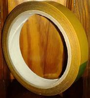Скотч двосторонній, універсальний 19мм х 10м х 90мкм, основа полімер, фото 1