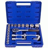"""Набор инструментов и ключей 20 пр. 1/2"""" UN-1020П Werker для авто в машину Автоинструменты"""