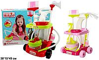 Тележка для уборки с пылесосом Little Helper 667-34