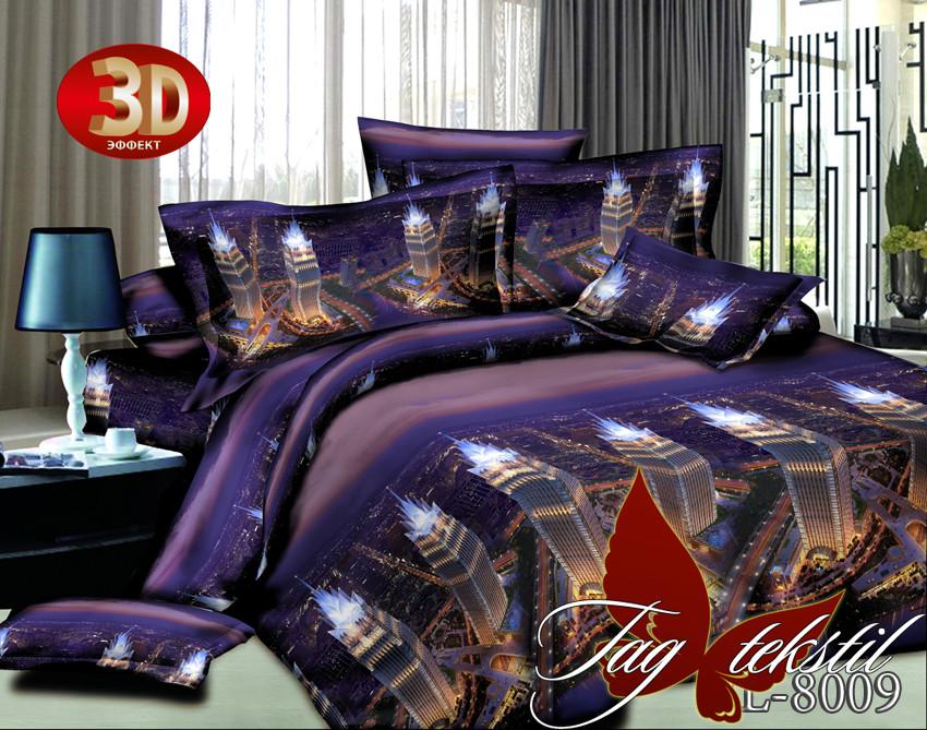 Комплект постельного белья BL8009 двуспальный (TAG polycotton-074/д)