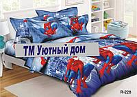 Подростковое и полуторное постельное бельё Человек Паук