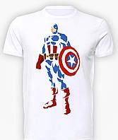 Футболка мужская GeekLand Капитан Америка Captain America art CA.01.001