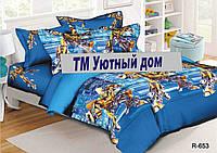 Подростковое и полуторное постельное бельё Трансформеры