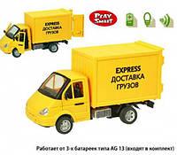 Машина инерционная музыкальная Газель 9077-E Доставка грузов