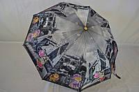 """Жіночий напівавтомат зонт з кішками від фірми """"NOVEL""""., фото 1"""