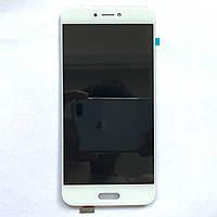 Дисплей (экран) для Xiaomi Mi5C ксиоми с сенсорным экраном в сборе, цвет белый