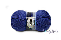 Турецкая пряжа Nako Sport Wool №10472 Василек