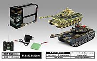Танковый бой р/у 99821 ZEGAN T-90 vs KingTiger 1:28 ***
