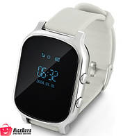 Детские GPS Часы Smart Baby Watch T58 (GW700) silver
