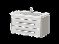 """Тумба подвесная для ванной комнаты """"Ювента"""", серия """"Geneva"""" ,  Gn-105 белая"""