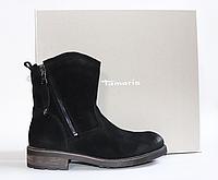 Женские ботинки Tamaris Германия оригинал натуральная замша 40