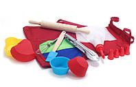 Детский набор для выпечки (10 предметов)