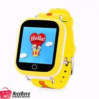 Детские GPS Часы Smart Baby Watch GW200S Q100s yellow (Q750)