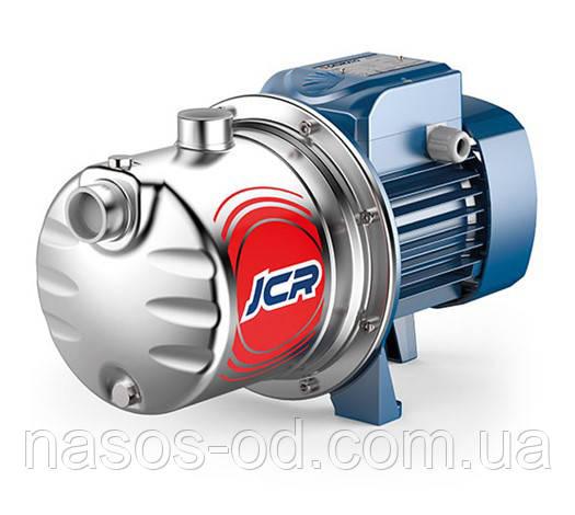 Насос центробежный поверхностный самовсасывающий Pedrollo JCRm2 C для воды 0.75кВт Hmax47м Qmax70л/мин