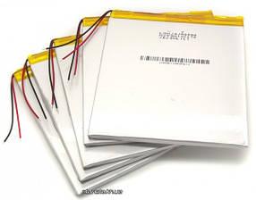 Внутренний универсальный аккумулятор 3000 mAh 3,7V 05*55*107 mm для планшетов