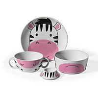 Набор детской фарфоровой посуды 4 пр Bambino Coll Korkmaz А733