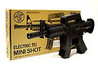 Игрушечный автомат на акамуляторе Q92, на пульках, стреляет очередью, игрушечное оружие, детские автоматы
