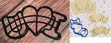 Пластикові вирубки для пряників та ін.
