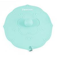Крышка силиконовая Fissman Аквамарин 11,5 см (Силикон)
