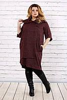 Платье туника с ангоры, с 42 по 74  размер, фото 1