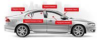 Автостекла на Chevrolet Aveo 2012- стекло лобовое, заднее стекло, переднее боковое стекло, заднее боковое стекло