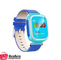 Детские GPS Часы Smart Baby Watch Q80 Голубые Гарантия