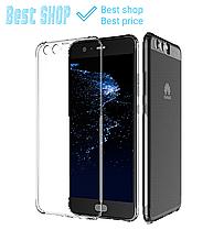 Чехол для Huawei P10 Lite/P10/ P10 Plus прозрачный ультратонкий усиленный