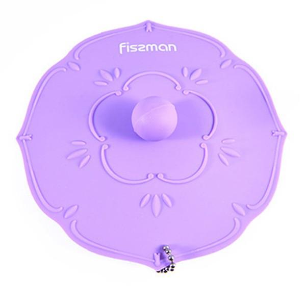 Крышка силиконовая Fissman Лиловый 11,5 см (Силикон)