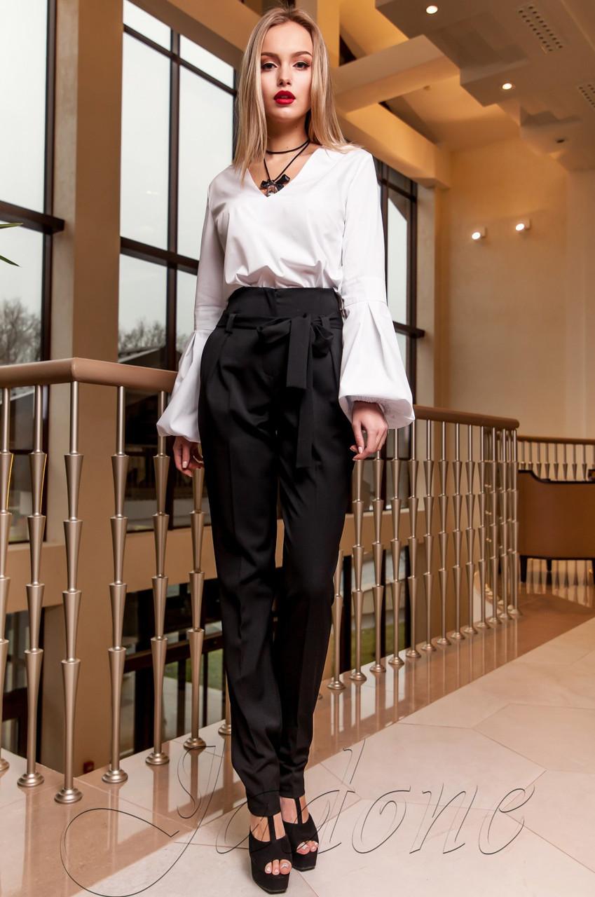 ad828f78ff2b Черные женские брюки Норис Jadone Fashion 42-48 размеры - Интернет-магазин  одежды
