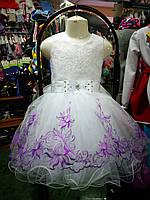 Детское бальное платье для девочки 4 - 7 лет