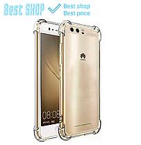 Чехол для Huawei P10 Lite/P10/ P10 Plus прозрачный ультратонкий усиленный P10 Plus