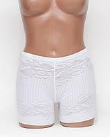 Женские трусы-шорты утяжки бамбук белые р.50 K3113-501