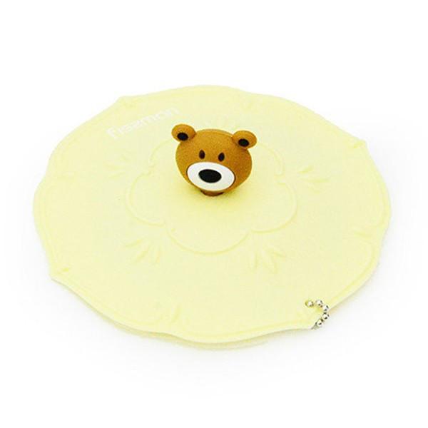 Крышка силиконовая Fissman Медвежонок 11 см (Силикон)