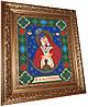 """""""Образ Пресвятой Богородицы. Остробрамская"""" икона алмазная техника"""