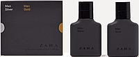ZARA Men Silver / Men Gold set 30ml + 30ml Набор подарочный (оригинал подлинник  Испания)