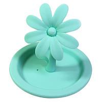 Крышка для кружки Fissman Цветок 9 см (Силикон), фото 1