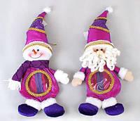 Мешочек для конфет, Снеговик, Санта 33см BonaDi SN33-22