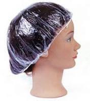 Шапка для душа YRE ON-04, по 100 шт в уп, шапочка для душа, полиэтиленовая шапочка для душа, одноразовые шапочки для салонов красоты