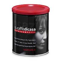 """Кофе Эспрессо """"Красный"""" молотый Casa Rinaldi 250г ж/б"""