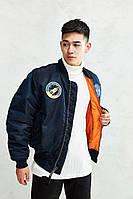 NASA MA-1 FLIGHT JACKET (Альфа Индастри) Куртка ветровка мужская наса флайт жакет, фото 1