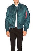 Куртка мужская летная для пилотов MA-1 FLIGHT JACKET (Альфа индастриз), фото 1