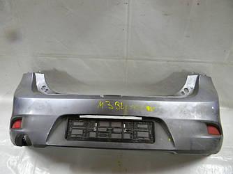 Бампер задний хетчбэк Mazda 3 BL 09-14 (Мазда 3 БЛ)  (Оригинальный № BA6R50221DAA)
