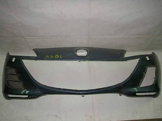 Бампер передний под омыватели Mazda 3 BL 09-14 (Мазда 3 БЛ)  (Оригинальный № BGV450031EBB)